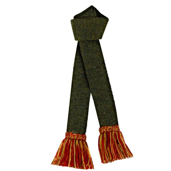 Pennine Socks - Garter with Contrast Trim - Merino Wool - Hunter Green