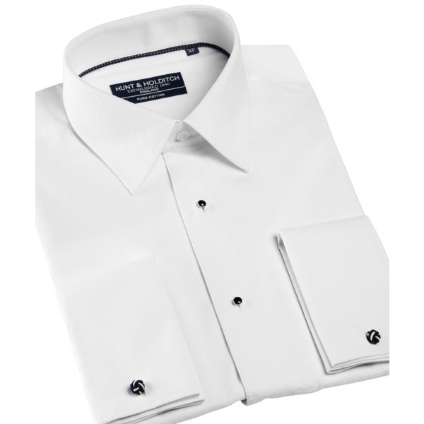 100% Cotton Standard Collar Marcella Dress Shirt from Hunt & Holditch
