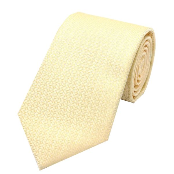 Pastel Shade Polyester Tie from L A Smith