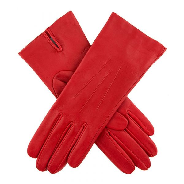 Felicity Berry. Ladies Leather Gloves with Silk Lining