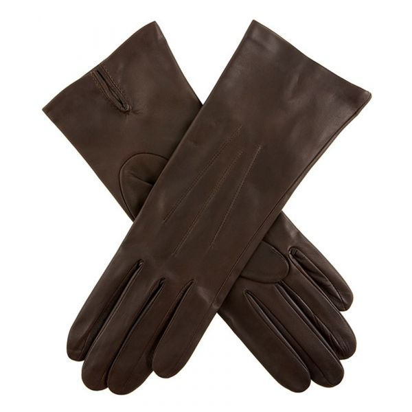 Felicity Mocca. Ladies Leather Gloves with Silk Lining