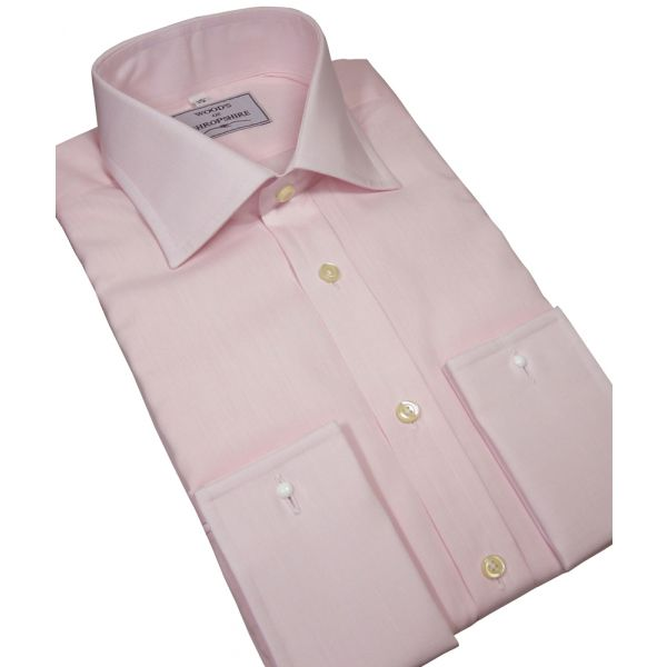 Classic Pink Poplin shirt