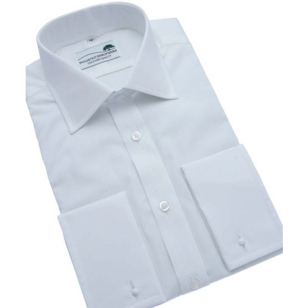 Classic White Poplin shirt