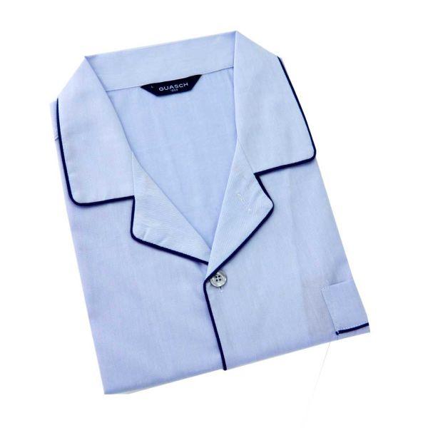 Guasch - Mens Cotton Pyjamas in Blue