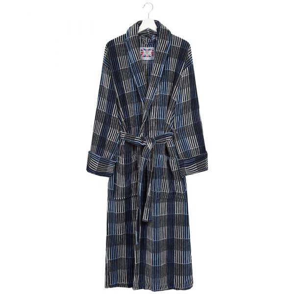 The Hereford. Mens Luxury Velour Gown from Bown of London