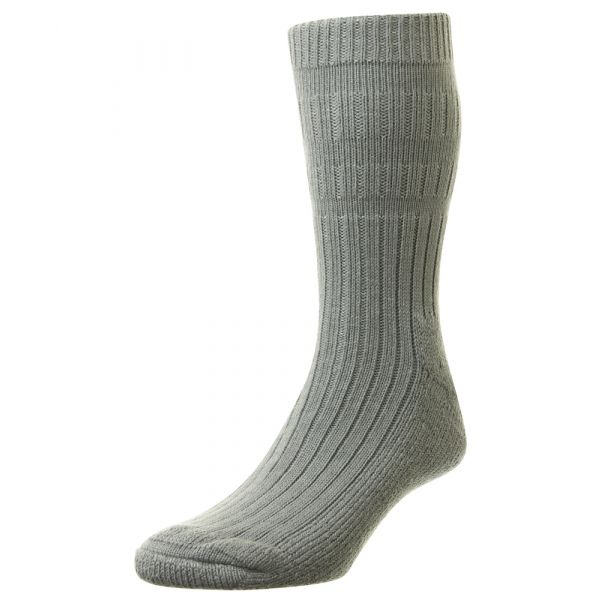 HJ9413-6-11-Grey Acrylic  Bedsocks
