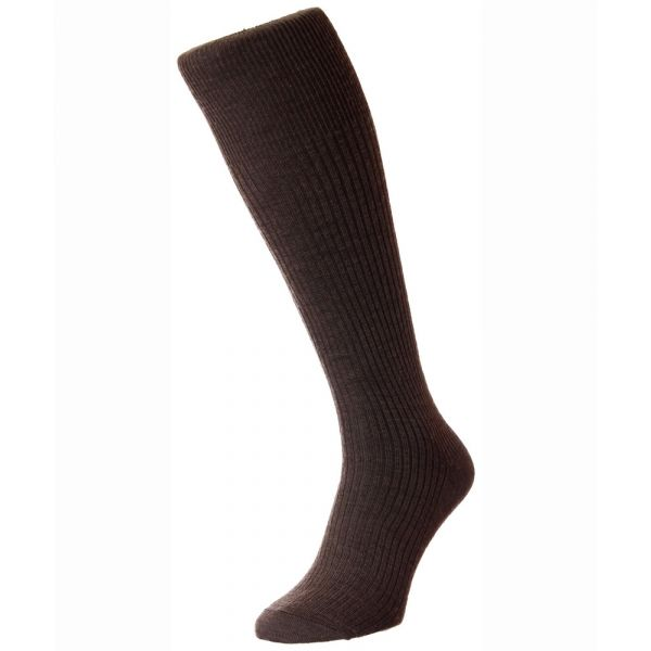 Earth Immaculate Long Wool Rich Sock from H J Hall