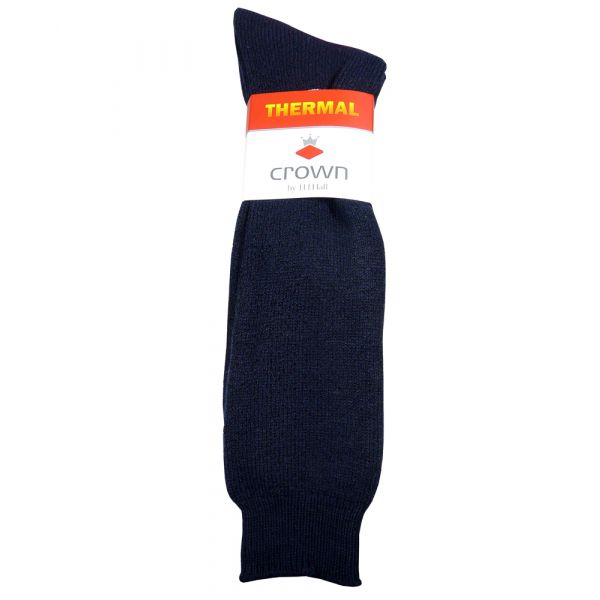 Navy Thermal Cushioned Sole Boot Sock