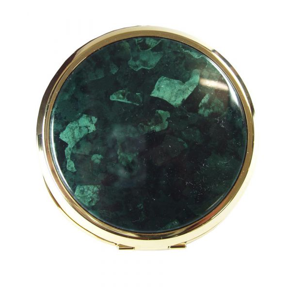 Gilt and Marble Compact