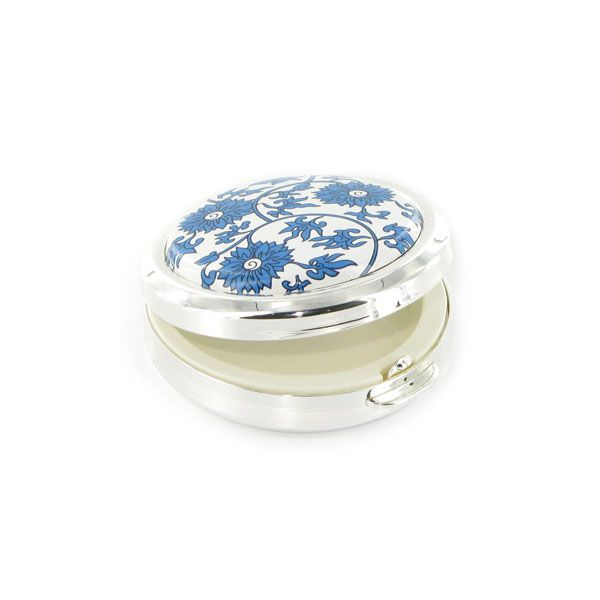 China Flower Pill Box
