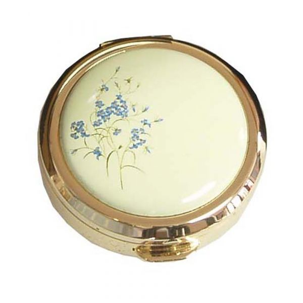 Forget Me Not Stratton Pill Box