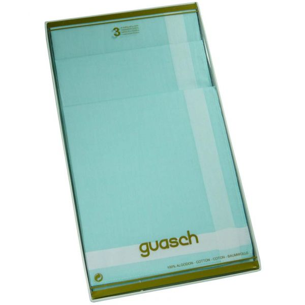 Verdant Green Cotton Ladies Handkerchiefs by Guasch