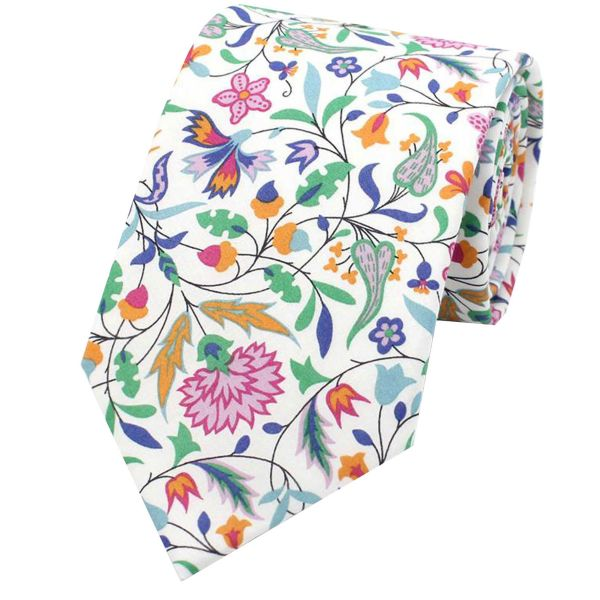 Made with Liberty Fabric - James Francis A - Cotton Tie