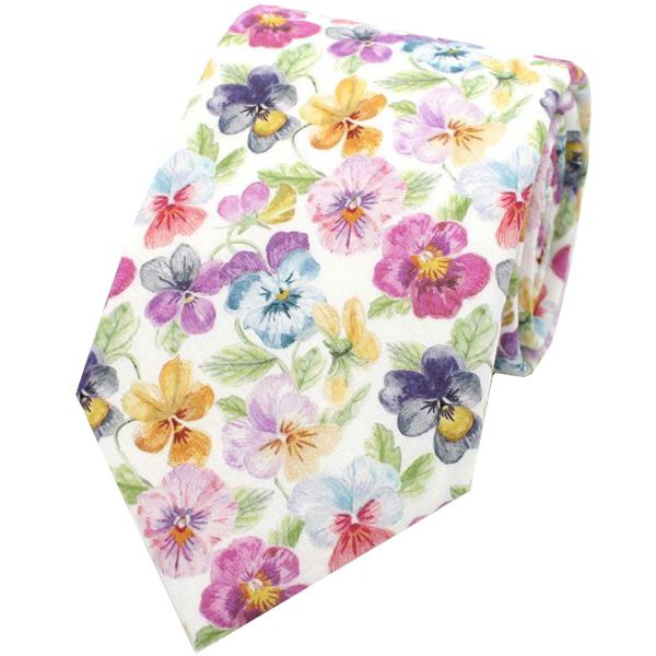 Made with Liberty Fabric - Think of Me in Pink - Cotton Tie