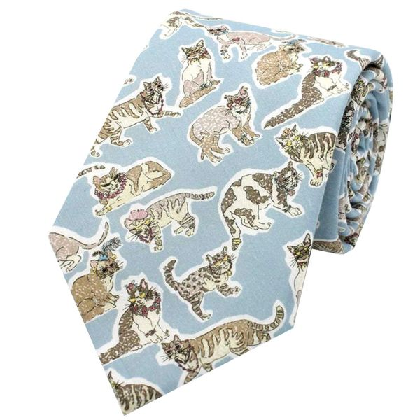 Made with Liberty Fabric - Willoughby Mews - Cotton Tie