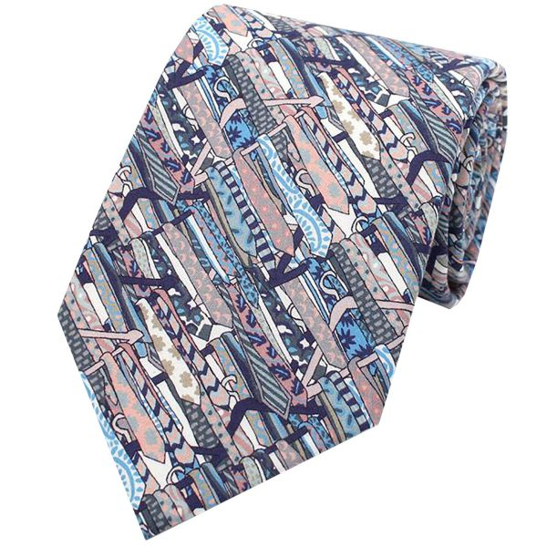 Made with Liberty Fabric - Ties on Coat Hangers - Cotton Tie