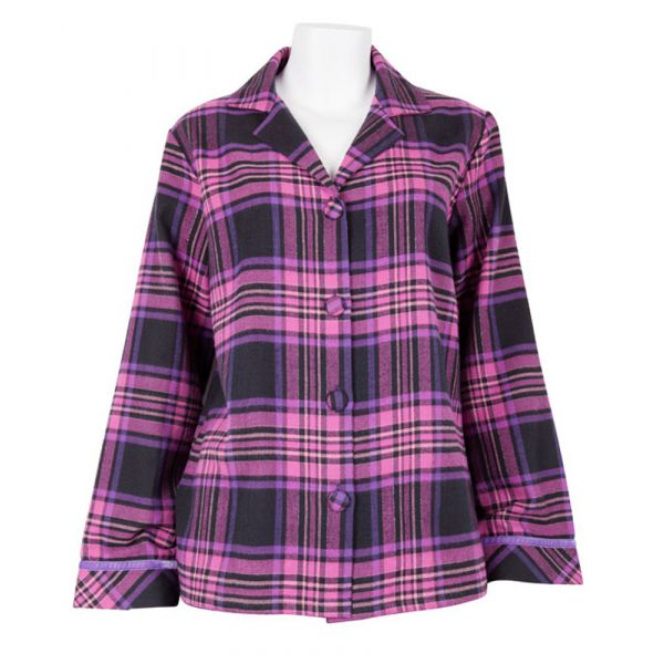 Liquorice Luxe Check Top from Cyberjammies
