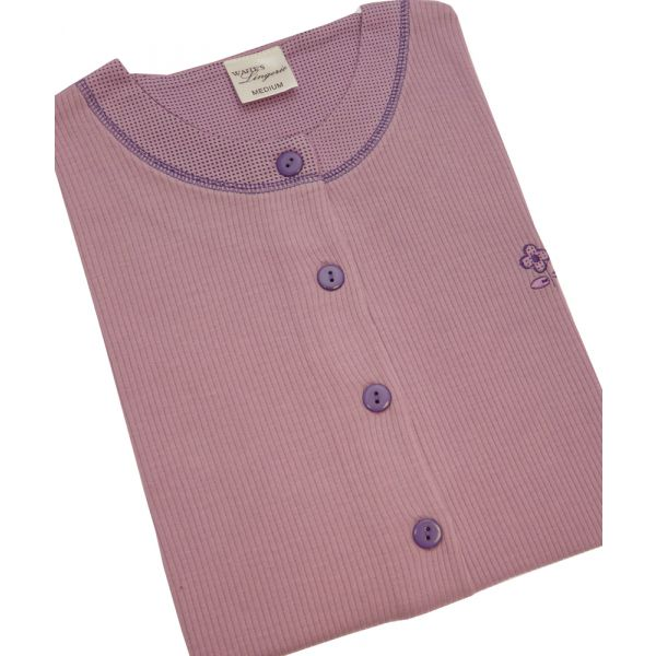 Short Sleeve Lilac Nightdress from Waites