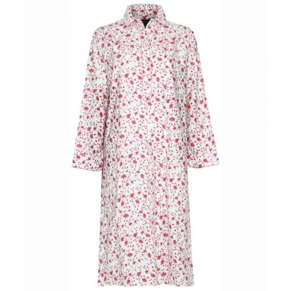 Ladies Cotton Nightdress in Pink From Champion Nightwear