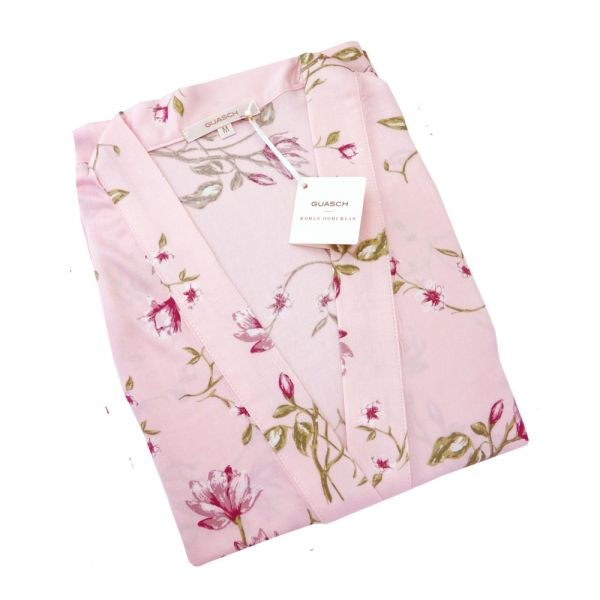 Guasch - Ladies Wrap - Pink Floral Design