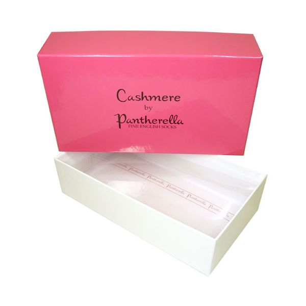 Pantherella Pink Ladies Cashmere Sock Gift Box