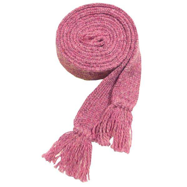 Ladies Wool Sock Garter in Pink