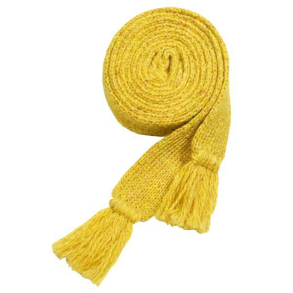 Ladies Wool Sock Garter in Marzipan