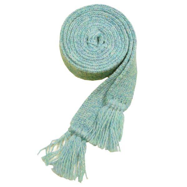 Ladies Wool Sock Garter in Duck Egg Blue