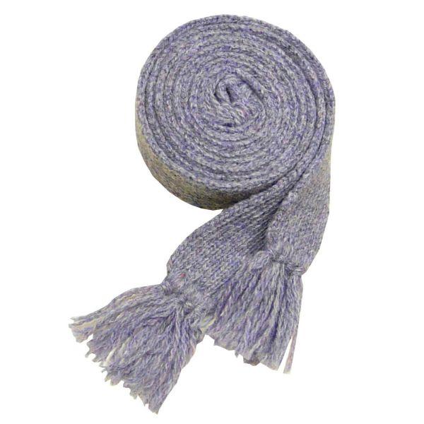 Ladies Wool Sock Garter in Lilac
