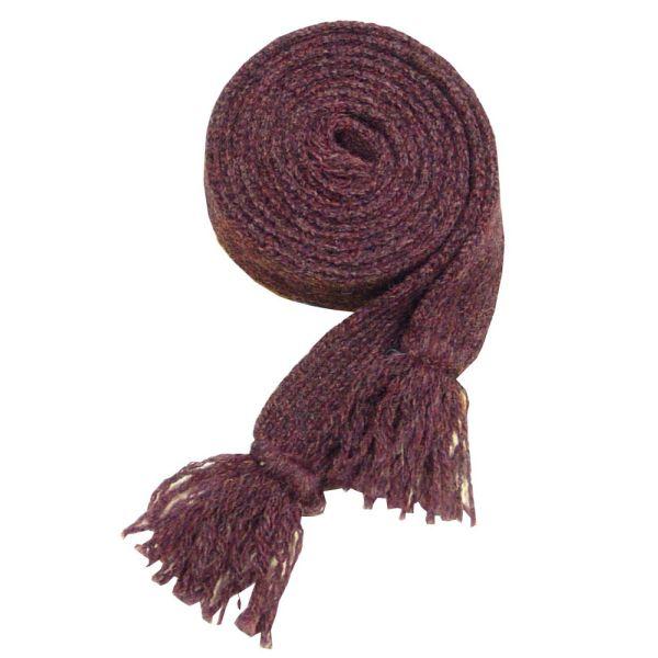 Ladies Wool Sock Garter in Plum
