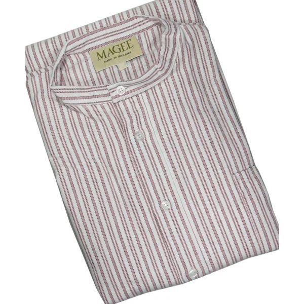 Red Children's Brushed Cotton Nightshirt by Magee of Donegal