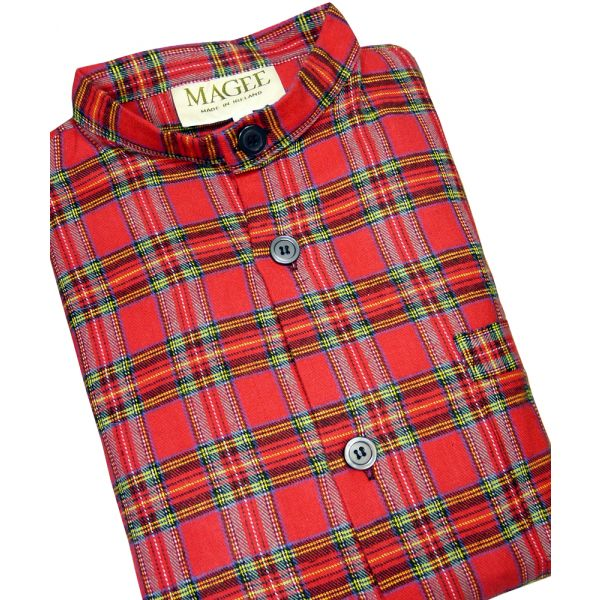 Royal Stewart Tartan Nightshirt from Magee of Donegal