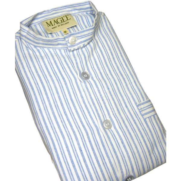Blue Striped Pyjamas from Magee of Donegal
