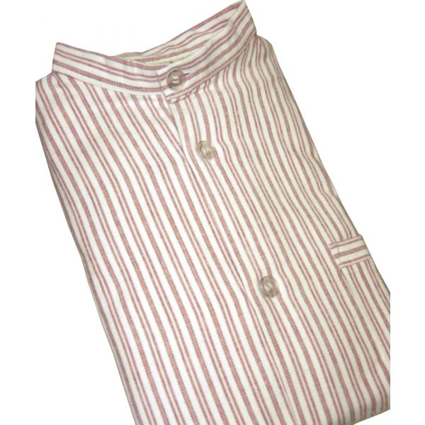 Red Striped Pyjamas from Magee of Donegal