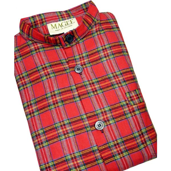 Royal Stewart Tartan Pyjamas from Magee of Donegal
