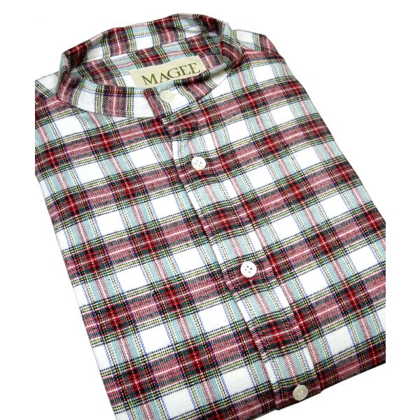 Dress Stewart Cotton Grandad Shirt from Magee
