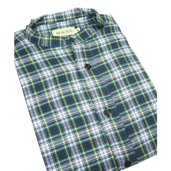 Dress Gordon Cotton Grandad Shirt from Magee