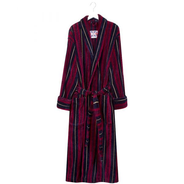 The Marchand. Velour Gown from Bown of London.
