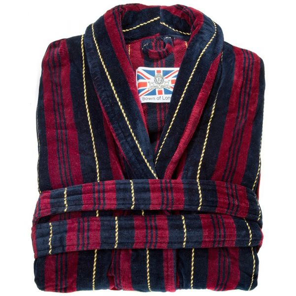 The Marchland. Boys Luxury Dressing Gown from Bown of London