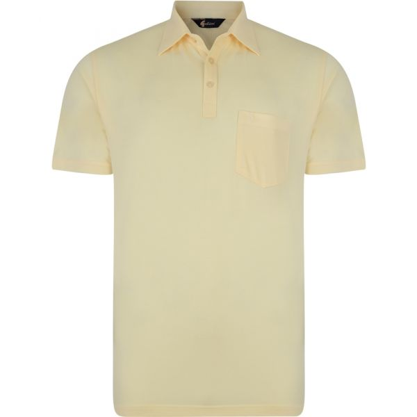 Classic Corn Yellow Gabicci Polo Shirt