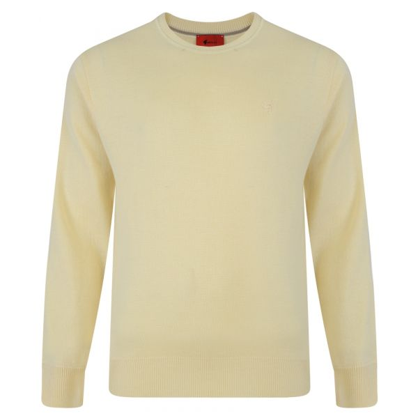 Gabicci Crew Neck Jumper in Corn Yellow