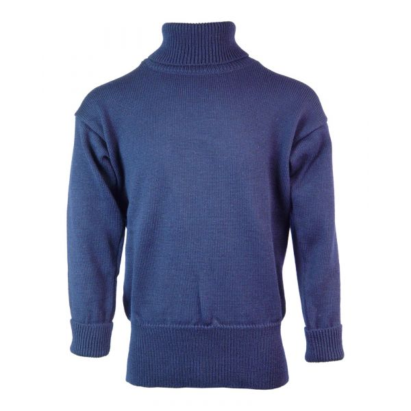 Submariner - Pure Wool Sweater in Navy from The Richmond Range by Crystal Knitwear
