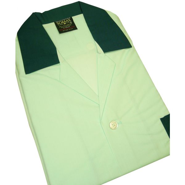 Light Green Easycare Men's NIGHT SHIRT - Somax
