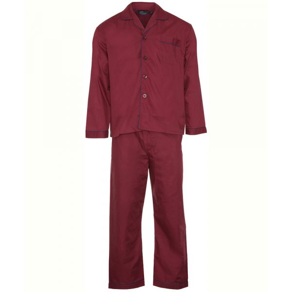 Burgundy Easycare Pyjamas from Champion