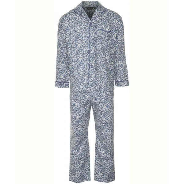Blue Paisley Style Cotton Pyjamas from Champion