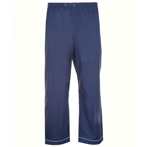 Two Pack (1 Navy and 1 Light Blue) Easycare Pyjama Trousers from Champion