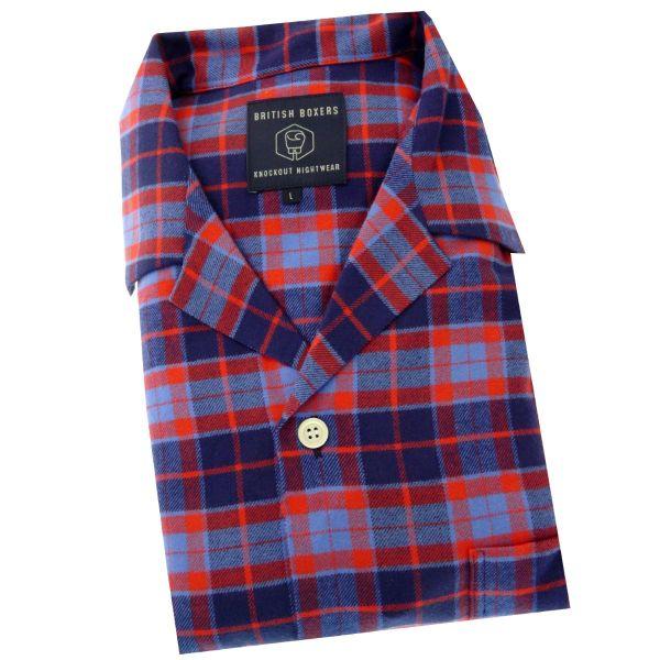 British Boxers - Mens Brushed Cotton Pyjamas - Braemar
