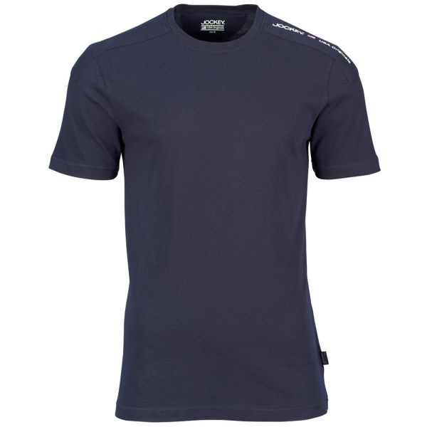 Navy Jersey Cotton T-Shirt from Jockey