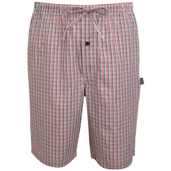 Cotton Bermuda Shorts in Stonewash Little Check from Jockey