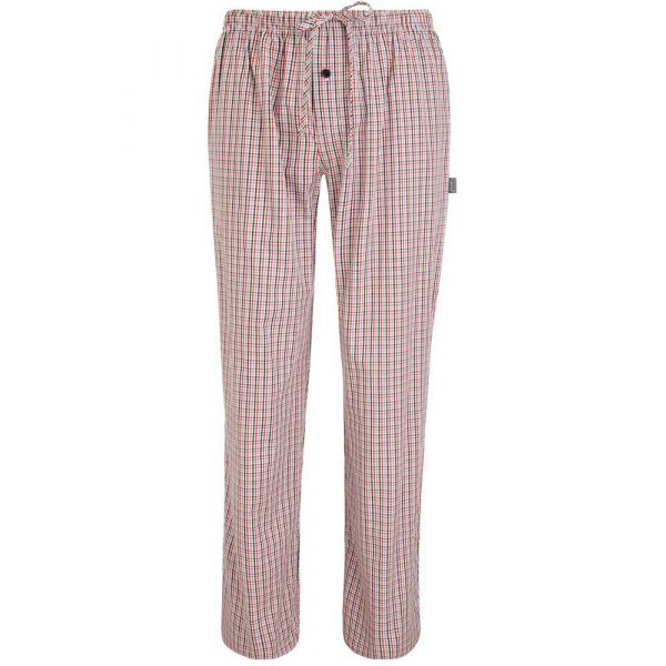 Cotton Lounge Pants in Stonewash Little Check from Jockey